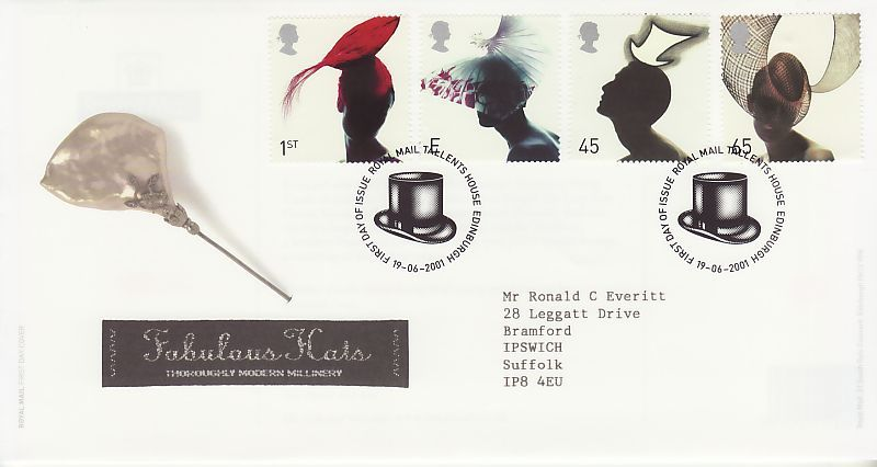 Hats First Day Cover